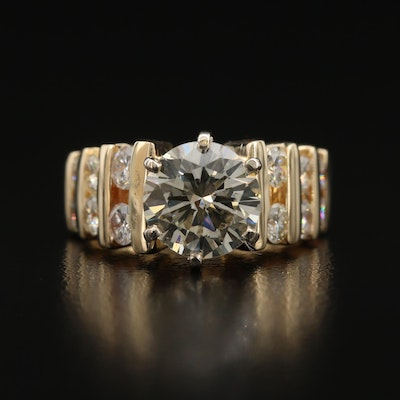 14K 3.61 CTW Diamond Ring