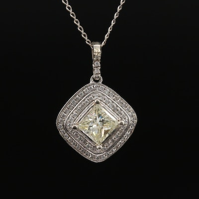 14K 2.04 CTW Diamond Necklace