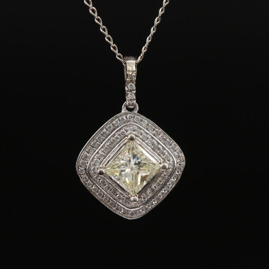 14K 2.04 CTW Diamond Necklace