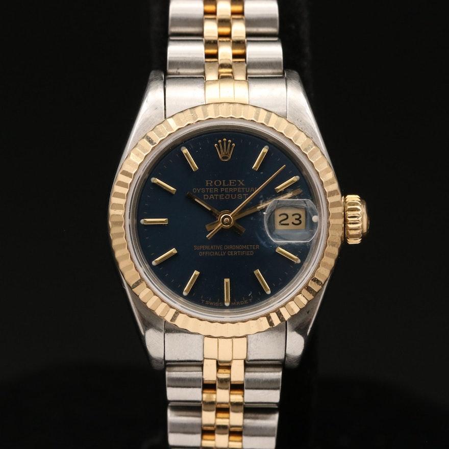 1987 Rolex Datejust Wristwatch