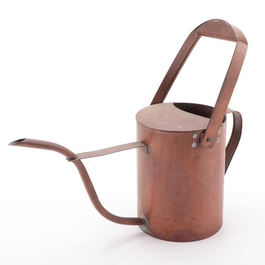 Department 56 Copper Watering Can, Late 20th Century