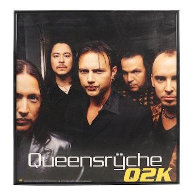 """Queensrÿche """"Q2K"""" Autographed Poster"""