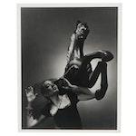 George Platt Lynes Reprinted Silver Gelatin Fashion Photograph