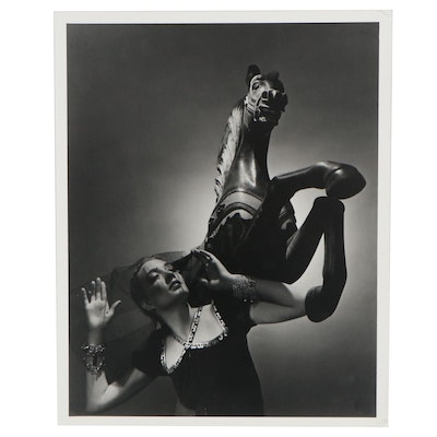 George Platt Lynes Reprinted Silver Gelatin Fashion Photograph