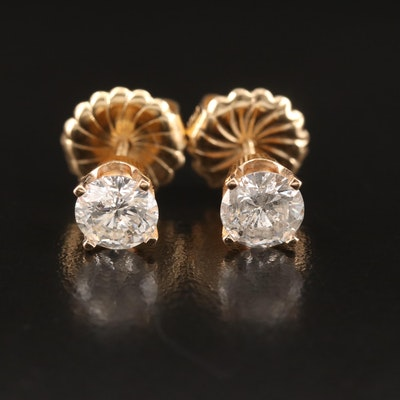 14K 1.73 CTW Diamond Stud Earrings