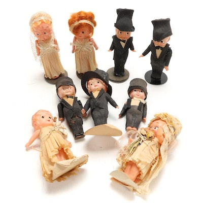 C.A. Reed Company Celluloid Dolls, Early to Mid 20th Century