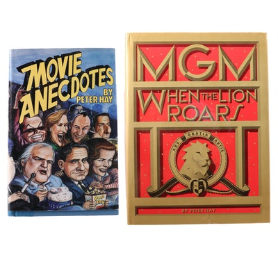 "Signed ""Movie Anecdotes"" with ""MGM: When the Lion Roars"" by Peter Hay"