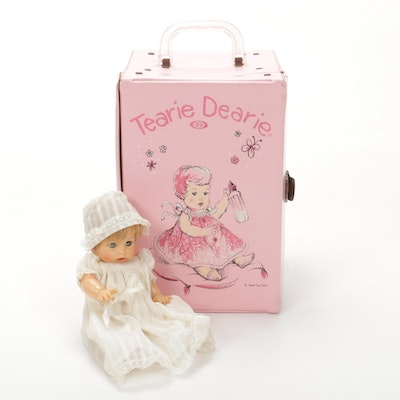 "Ideal Toy Corp. ""Tearie Dearie"", Traveling Wardrobe and Accessories"