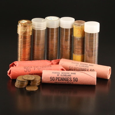 Ten Rolls of Lincoln Wheat Cents