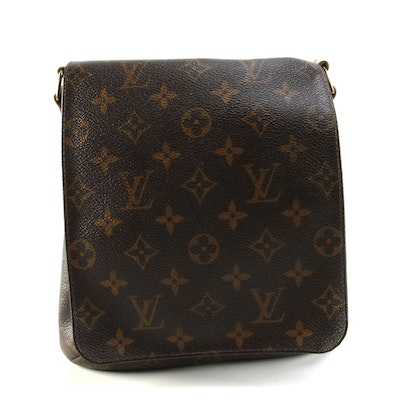 Louis Vuitton Musette Salsa Short Strap Bag in Monogram Canvas with Leather Trim