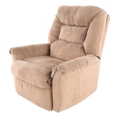 Franklin Corp. Brown Microfiber Rocking Recliner