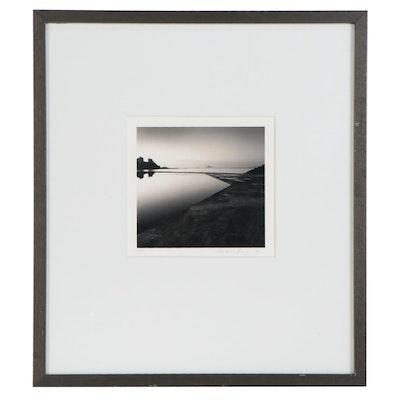 """Michael Kenna Silver Gelatin Photograph """"In the Balance,"""" 1993"""