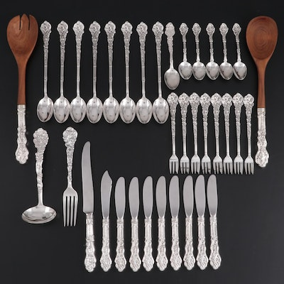 "Gorham ""Versailles"" Sterling Silver Flatware and Serving Utensils"