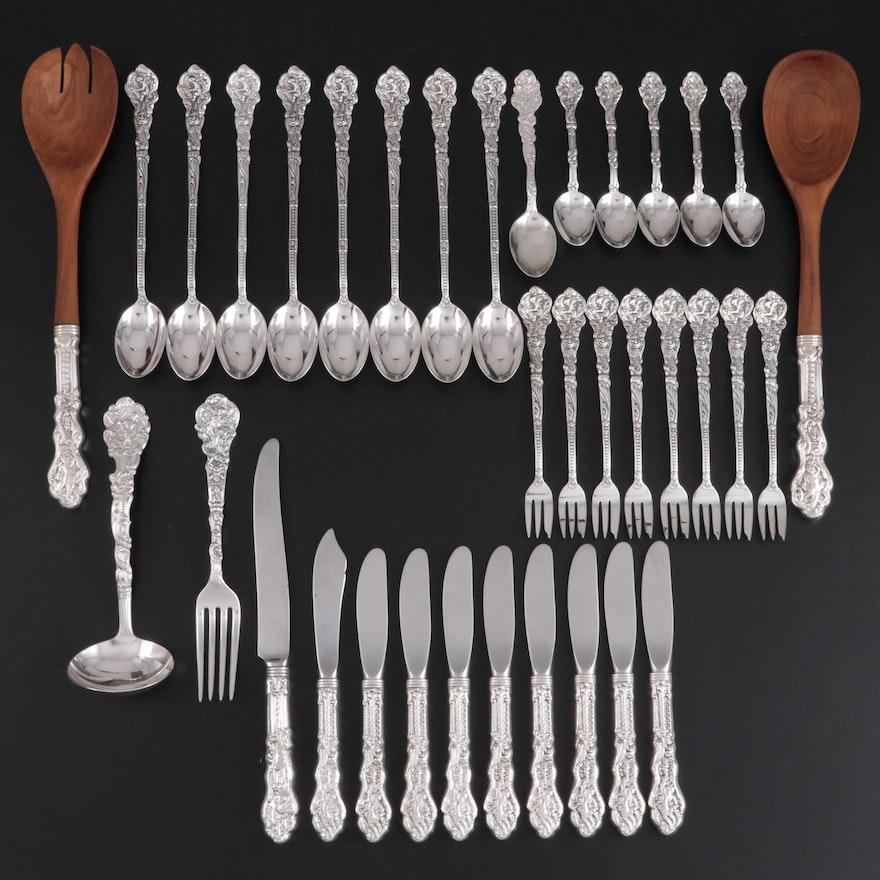 "Gorham ""Versailles"" Sterling Silver Flatware and Serving Utensils"