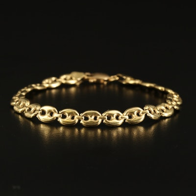18K Mariner Chain Link Bracelet