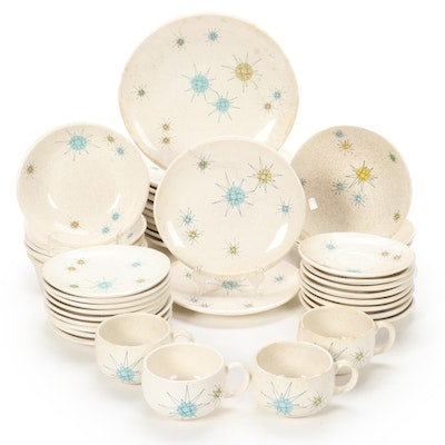 "Gladding, McBean & Co. Franciscan ""Starburst"" Ceramic Tableware, 1960s"