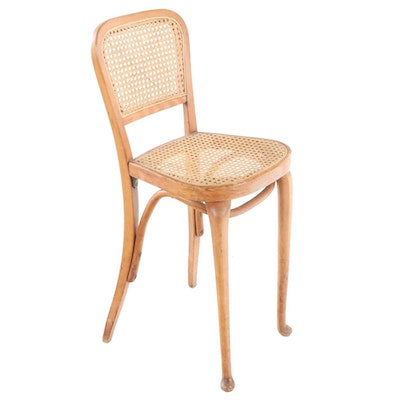 Bentwood and Cane Side Chair, 20th Century