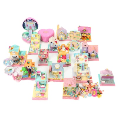 Bluebird Polly Pockets including School House, Summer House and Others
