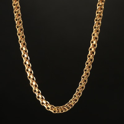 18K Bismark Chain Necklace