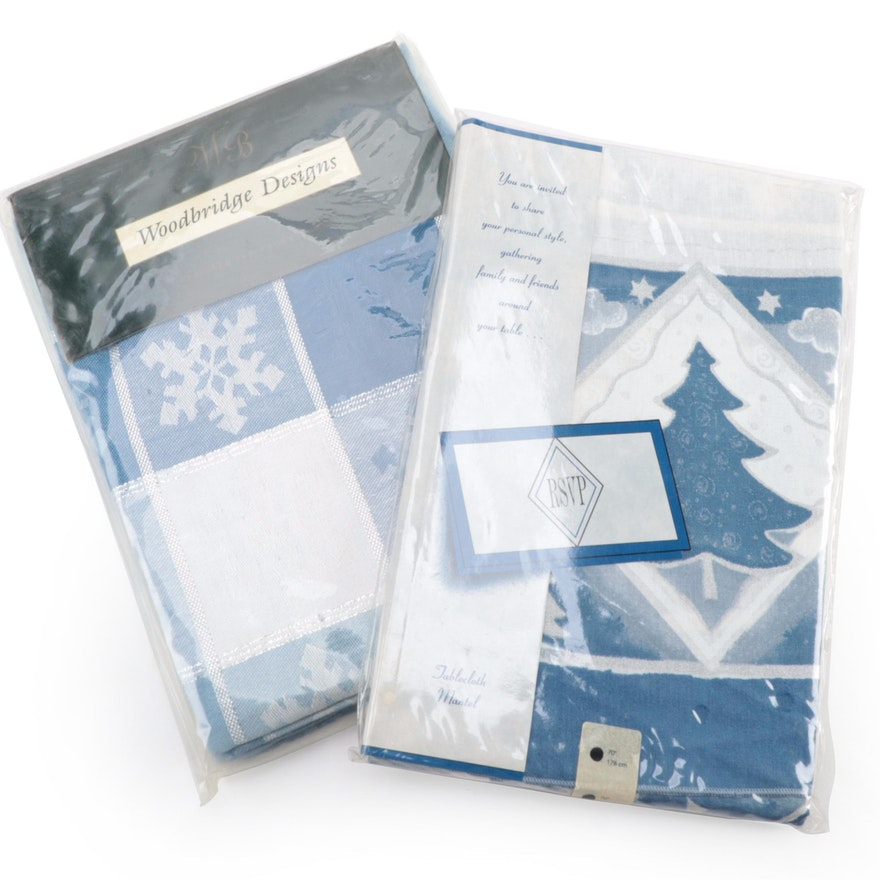 Winter Themed Table Cloths