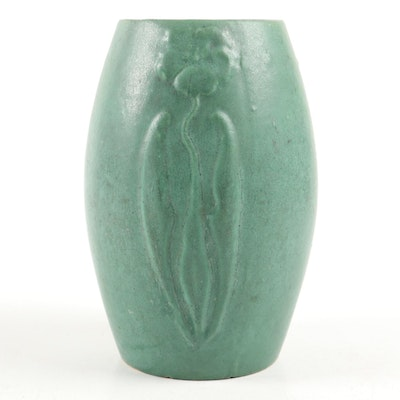 Arts and Crafts Art Pottery Vase, Early 20th Century