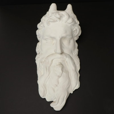 "Plaster Cast of the Head of ""Moses"" after Michelangelo"