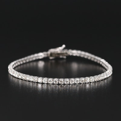 14K 4.03 CTW Diamond Tennis Bracelet