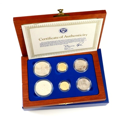1986 United States Statue of Liberty Centennial Commemorative Coin Set