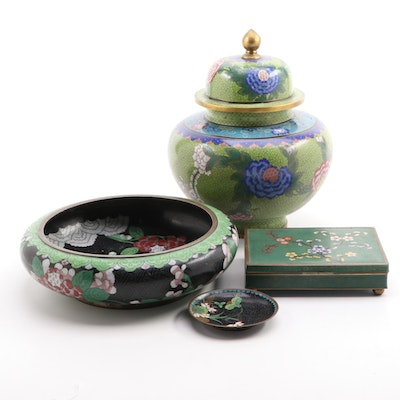Collection of Chinese Cloisonne