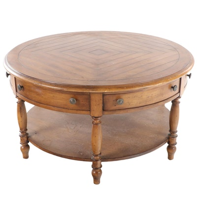 "Lexington ""Southern Living"" Collection Round Coffee Table"