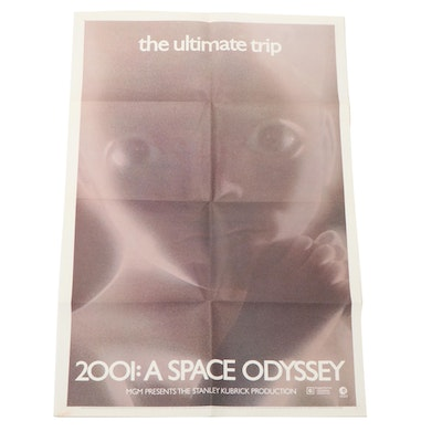 """2001: A Space Odyssey"" Star Child One Sheet, 1971"