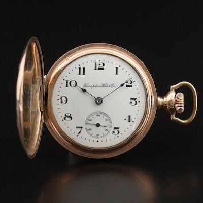 Hampden Hunting Case Pocket Watch