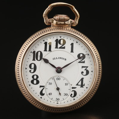 1927 Illinois Bunn Special Pocket Watch