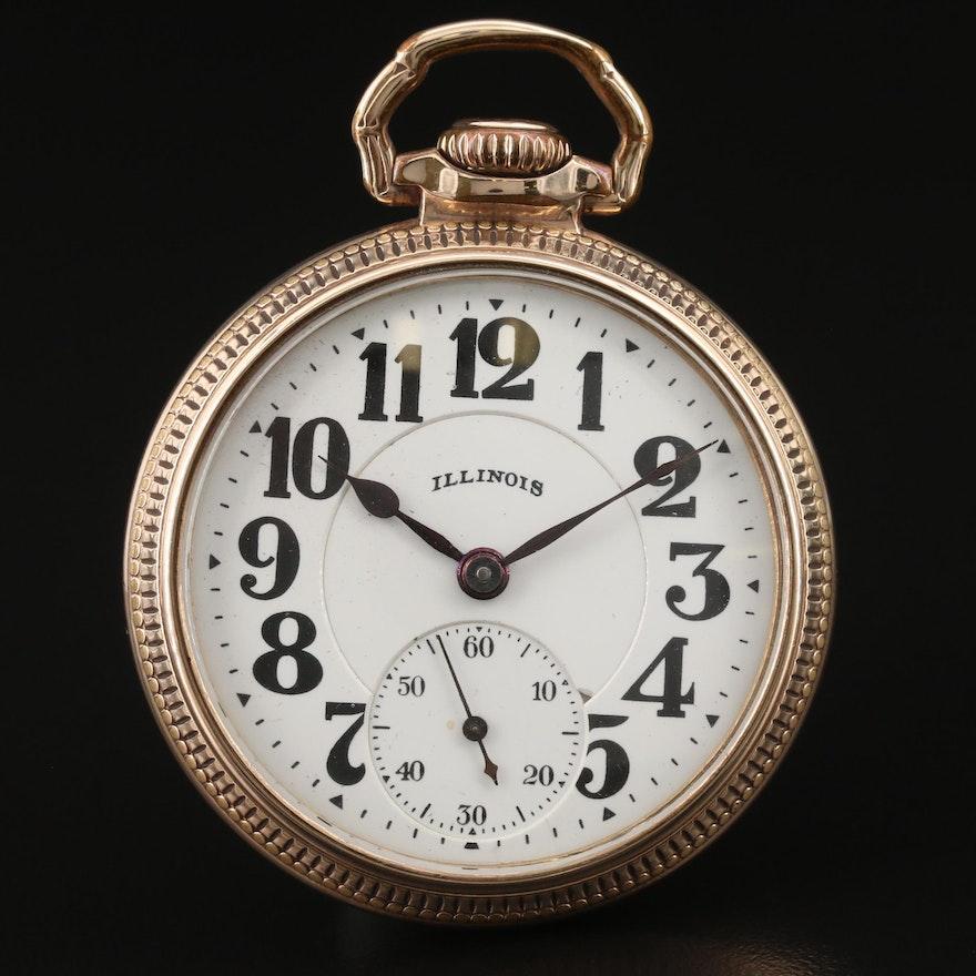 1927 Illinois Bunn Special Pocket Watch