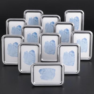 "Georg Jensen ""Tableau"" Aluminum Tabletop Picture Frames"