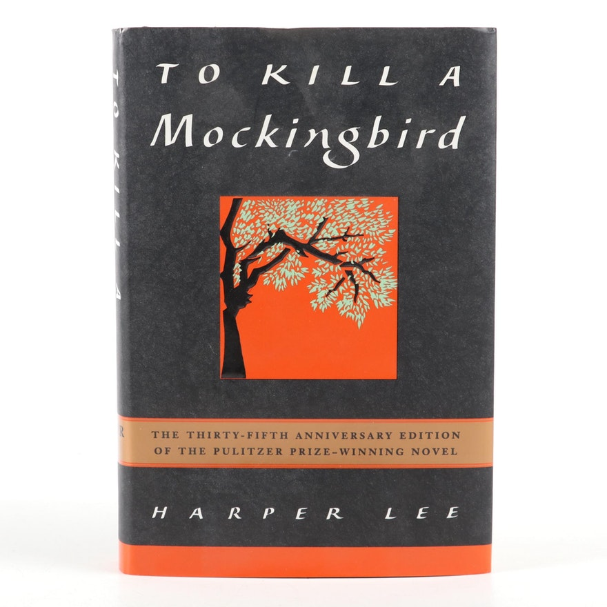 """Signed 35th Anniversary Edition """"To Kill a Mockingbird"""" by Harper Lee with COA"""