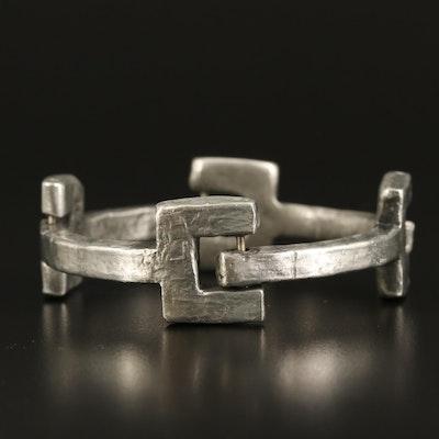 Danish Modernist Anders Andersen Y Link Bracelet