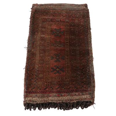 2'0 x 3'6 Handmade Northwest Persian Tribal Wool Storage Bag