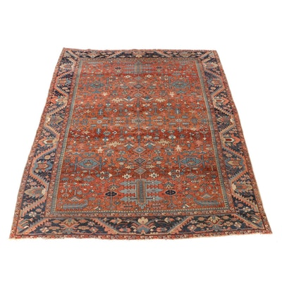 9'11 x 13'4 Hand-Knotted Northwest Persian Room Sized Rug
