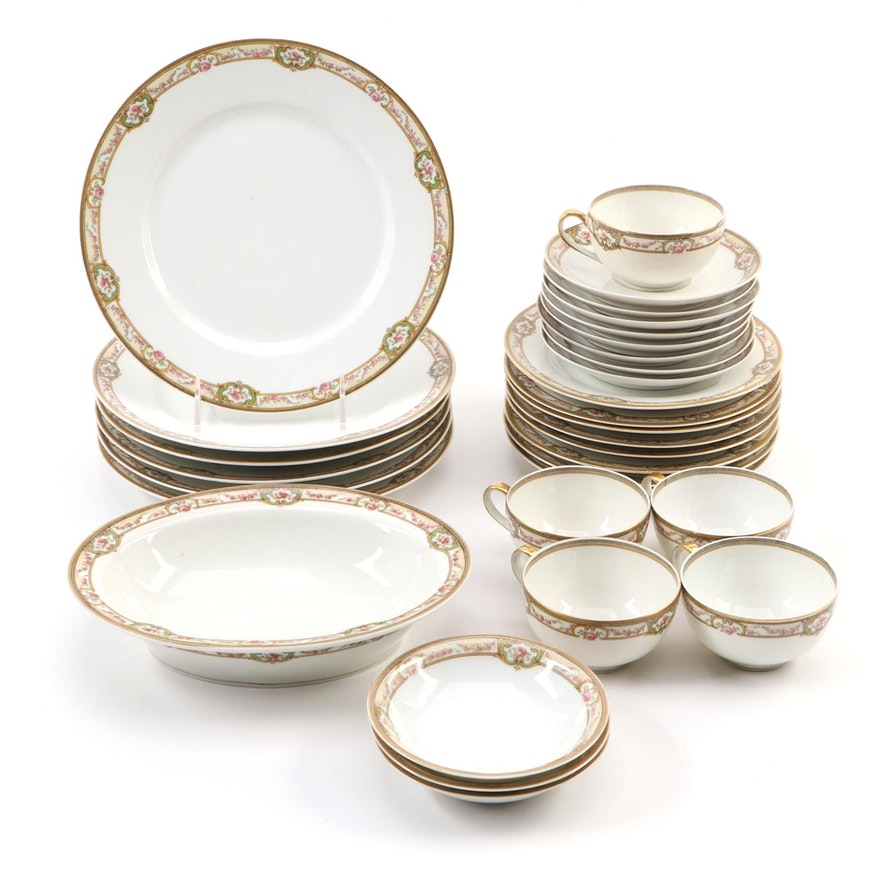 Theodore Haviland Limoges Porcelain Dinnerware