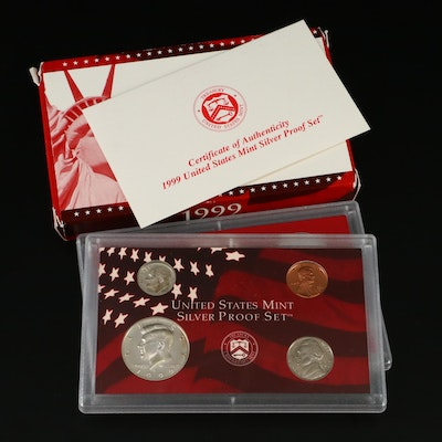 1999 U.S. Mint Silver Proof Set