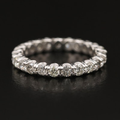 Platinum 1.40 CTW Diamond Eternity Band
