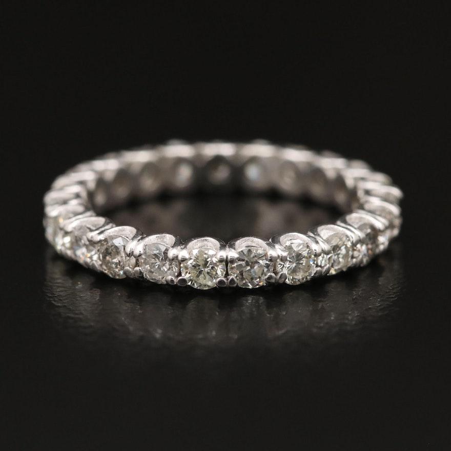 Platinum 1.40 CTW Diamond Eternity Band