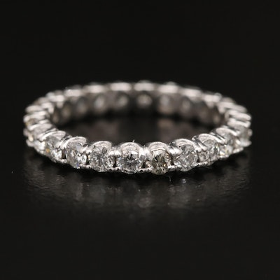 Platinum 1.20 CTW Diamond Eternity Band