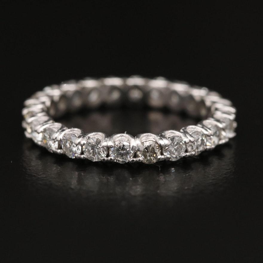Platinum 1.20 CTW Diamond Eternity Band