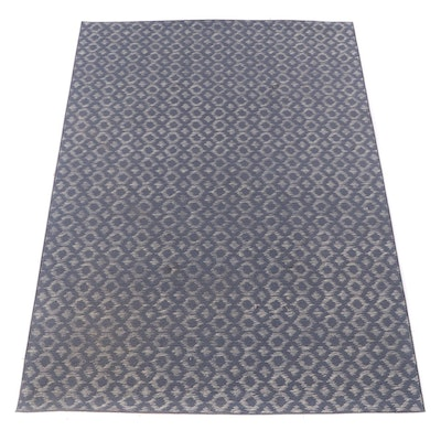 7'6 x 11' Machine Made Geometric Looped Pile Area Rug