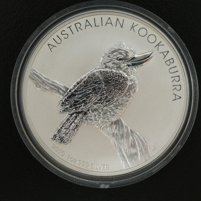 2010 Australia $1 Silver Kookabura Bullion Coin