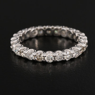 Platinum 1.48 CTW Diamond Eternity Band