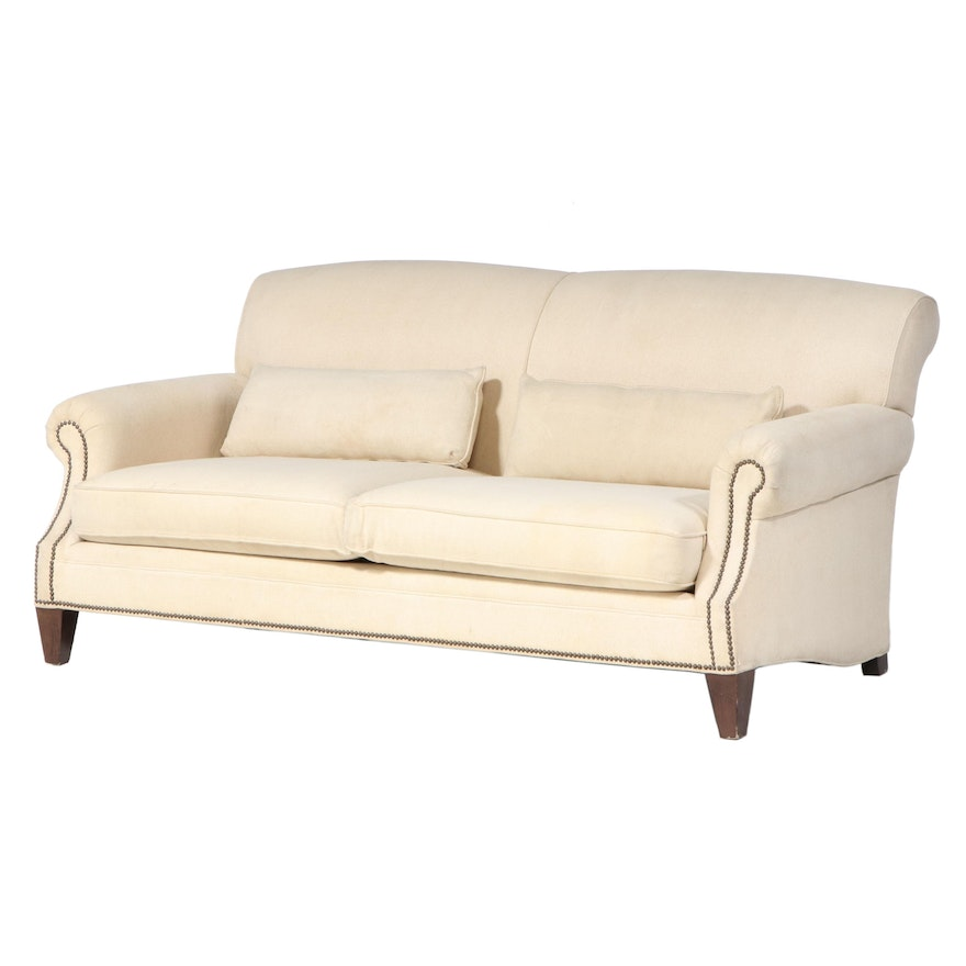 Mitchell Gold + Bob Williams Contemporary Upholstered Sofa for Pottery Barn
