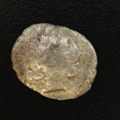 Ancient Kragos, Lycian League AR Drachm Coin, ca. 168 B.C.